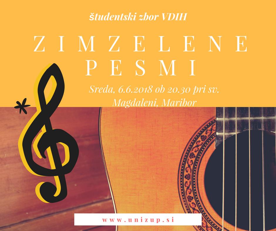 Koncert zimzelenih mladinskih pesmi