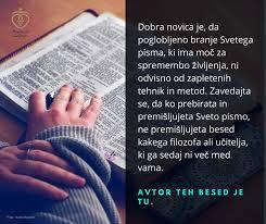 Zdravljenje notranjih ran s Svetim Pismom